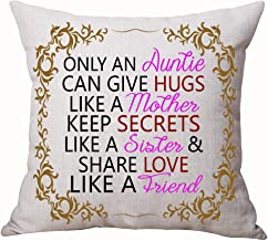 Best Gifts For Aunt Nordic Sweet Warm Funny Sayings Only An Auntie Can Give Hugs Like A Mother Keep Secrets Like A Sister ...
