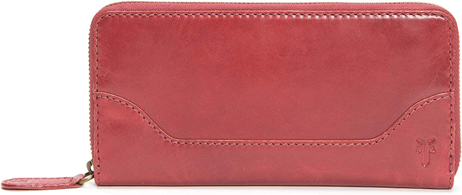 FRYE Melissa Zip Leather Wallet Year-end annual account Around All items in the store