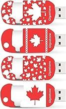 Gigastone 4 Pack 32GB USB Flash Drive, Maple Style, Capless Retracble USB 2.0 Thumb Drive Memory Stick Pen Drive for PC Windows Linux Apple Mac Desktop Laptop, 4 Pcs Pack (32 GB 4-Pack)