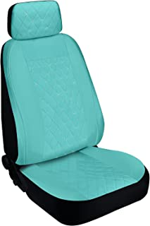 Pilot Automotive SWR-0137 Seat Cover (Special Edition Swarovski Crystal Embellished - Mint, Diamond Stitched Faux Leather)