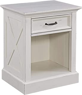Seaside Lodge White Night Stand by Home Styles