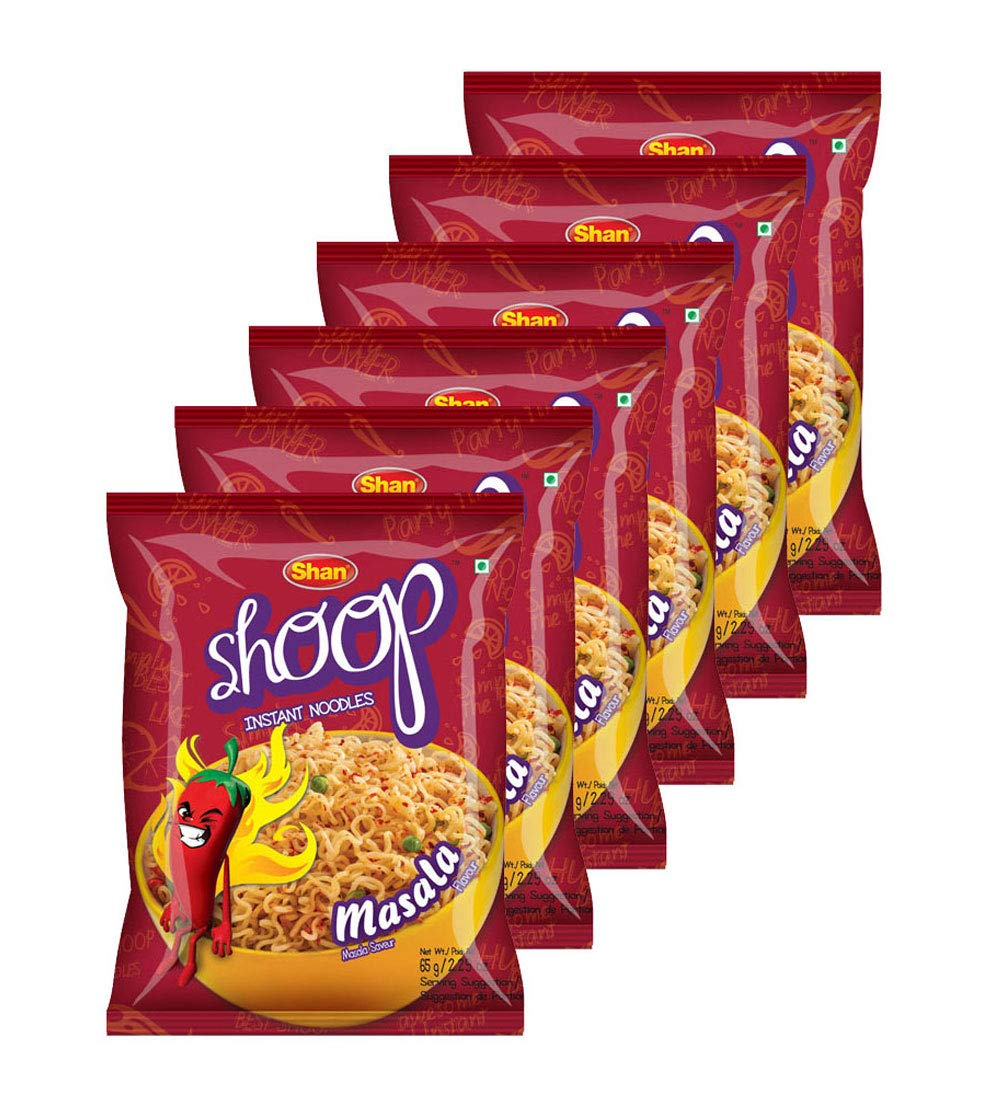 Shan Shoop 67% OFF of fixed price Instant Noodles 2.29 Max 89% OFF - oz Saveur Masala 65g