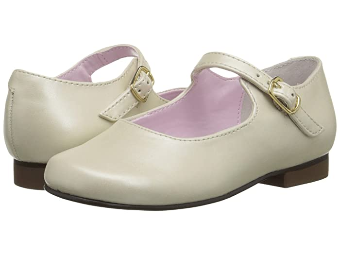 Vintage Style Children's Clothing: Girls, Boys, Baby, Toddler Nina Kids Bonnett ToddlerLittle Kid Bone Pearlized Girls Shoes $49.00 AT vintagedancer.com