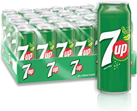 7UP, Carbonated Soft Drink, Cans, 24 x 355 ml