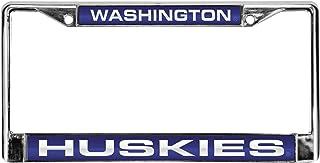 Rico Industries NCAA Washington, Huskies Lasergeschnittener Chromrahmen