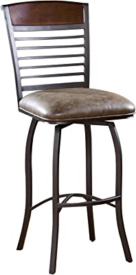 Amazon Com Stella Metal Cafe Side Chair In Brushed