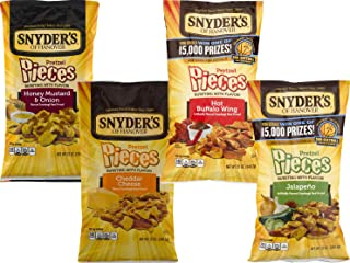 Snyder's of Hanover Flavored Pretzel Pieces Variety 4- Pack (12 oz. Bags)