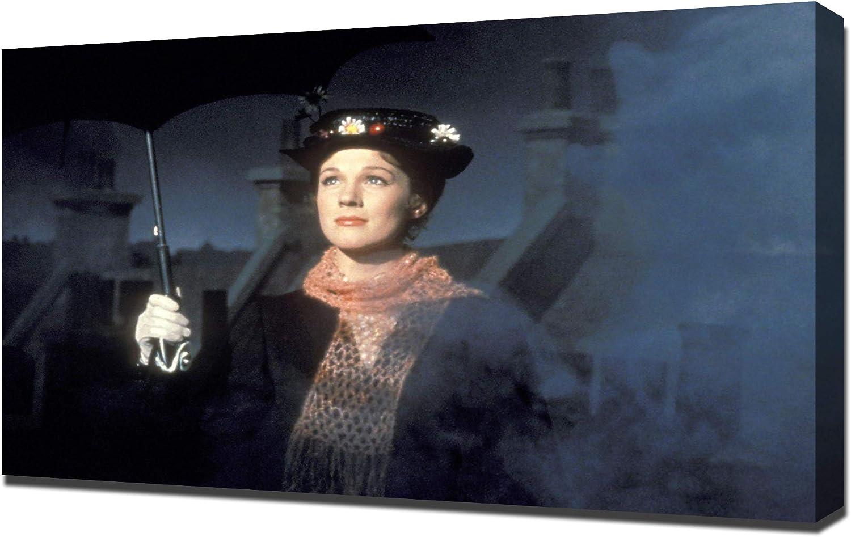Pingoo Prints Andrews, Julie (Mary Poppins) 01 - Leinwandbild - Kunstdrucke