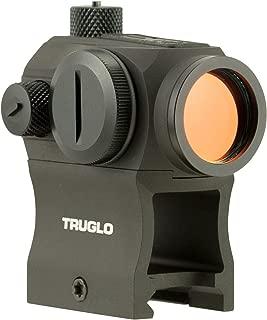 TRUGLO TRU-TEC Compact 20mm Tactical Red Dot Sight