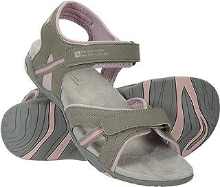 comprar comparacion Mountain Warehouse Sandalias Oia Mujer - Zapatos Ligeros de Verano, Flexibles, Espuma amortiguadora, Cierre de Gancho y Bu...