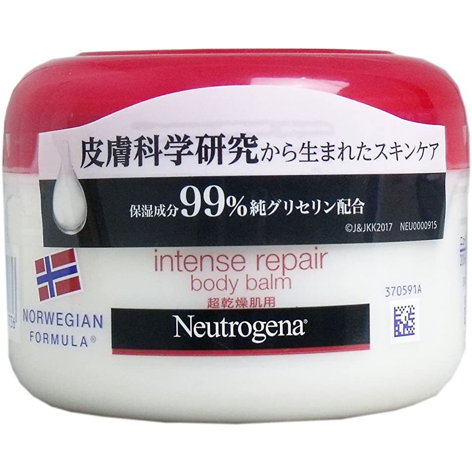 頑固な統合やさしい【まとめ買い】Neutrogena(ニュートロジーナ) ノルウェーフォーミュラ インテンスリペア ボディバーム 超乾燥肌用 微香性 200ml×6個