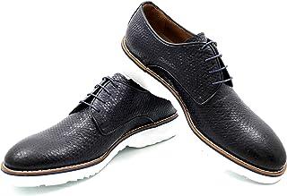 CANNERI Scarpe Stringate Uomo -9028 - Derby - Business e Casuale - Scarpa Classica in Pelle dal Design e dallo Stile