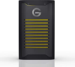 G-Technology 2 TB ArmorLock High-Grade 256-bit AES-XTS encryption, IP67 Rugged, Pro-Grade Performance 1000 MB/s - NVMe SS...