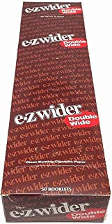 EZ Wider Double Wide Rolling Papers 50ct - Retailers Box