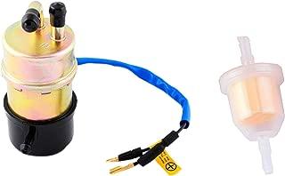 Podoy 350 Fuel Pump 16710-HA7-672 with Am116304 Fuel Filter for Honda Fourtrax 86-89 TRX-350 TRX-350D TRX 350 350D 4x4