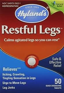 Hyland's Restful Legs Tablets 50 ea (Pack of 2)