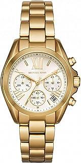 Michael Kors MK6267 Women's Bradshaw Mini Champagne Dial Yellow Gold Steel Chronograph Watch