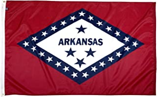 FlagSource Arkansas Nylon State Flag, Made in The USA, 3x5'