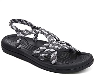 Comfortable Walking Sandals with Arch Support for Women
