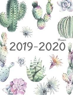 2019-2020 Planner: Daily Weekly Monthly Calendar Planner | 24 Months Jan 2019 - Dec 2020 For Academic Agenda Schedule Organizer Logbook and Journal ... Monthly Calendar Planner 8.5 x 11) (Volume 6)
