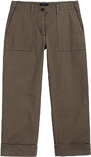 Gant Women's Cropped Utility Canvas Pants