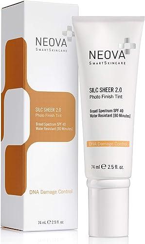 Neova DNA Damage Control Silc Sheer SPF 40, 2.5 Fluid Ounce 3 Pounds