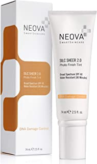 Sponsored Ad - NEOVA SmartSkincare Silc Sheer 2.0 Broad Spectrum SPF 40 Physical Sunscreen with DNA Repair Technology and ...