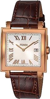 [フェンディ] 腕時計 QUADOROMEN F604514021 メンズ 並行輸入品 ブラウン