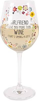 Pavilion Gift Company Wine Glasses, Clear