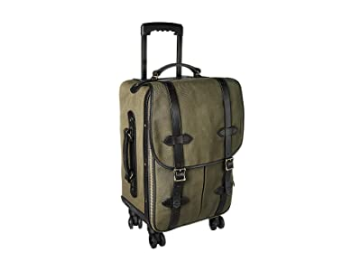 Filson Rolling 4-Wheel Check-In (Otter Green) Carry on Luggage
