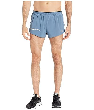 New Balance Impact Split Shorts 3 (Chambray) Men