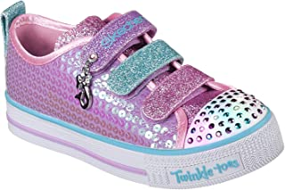 Skechers Unisex-Child 20062L Twinkle Lite-Mermaid Magic