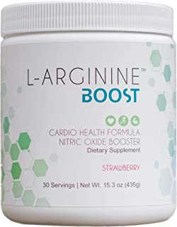 L-ARGININE BOOST - Nitric Oxide Booster Dietary Supplement - For Cardio Health - L-Arginine with L- Citrulline - Beetroot ...