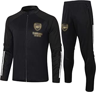 BVNGH Arsenal Football Jersey Training Suit,2021 New Season Long Sleeve Fashion Tracksuits Soccer Jerseys,Breathable and C...