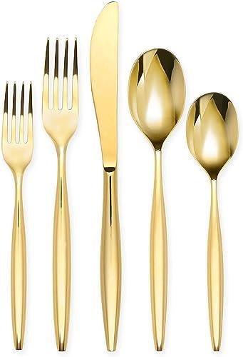 Olivia-&-Oliver-Madison-20-Piece-Flatware-Set-in-Gold