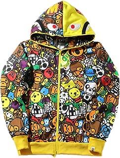 Mulynn Fashion Bape Casual Hoodie Jacket for Men/Women