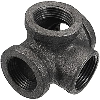 Side Outlet Elbow Kee 1-1//4 Inch Pipe Malleable Iron Pipe Rail Fitting
