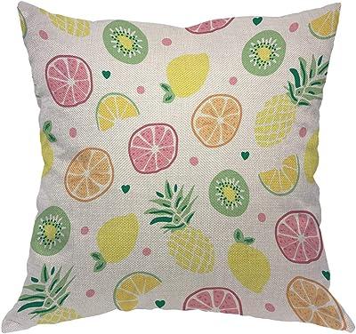 Amazon.com: Funda de almohada súper suave y lujosa, verde y ...