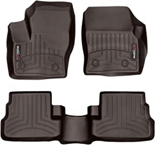 All Weather Heavy Duty Floor Mat Set Autotech Park Custom Fit Car Floor Mat for 2015-2018 Lincoln MKC SUV