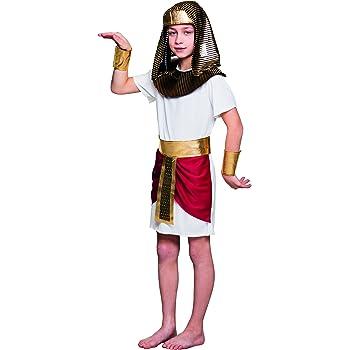 Boland- Disfraz infantil de Tutankhamun, Color blanco, 4-6 jährige ...