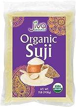 Organic Cream of Wheat Farina 2 LB - Suji - by Jiva Organics (32oz)