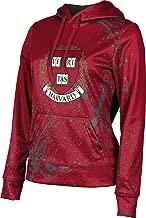 Harvard University Women's Pullover Hoodie, School Spirit Sweatshirt (Splatter)