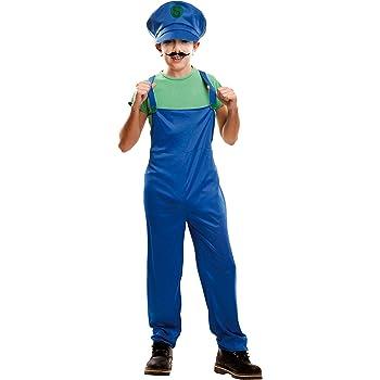 My Other Me Me-202229 Disfraz de súper plumber para niño, color ...