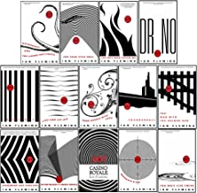 James Bond 007 Thriller Collection 14 Books Bundle (Casino Royal, Live And Let Die, Moon Raker, Diamonds Are Forever, From...