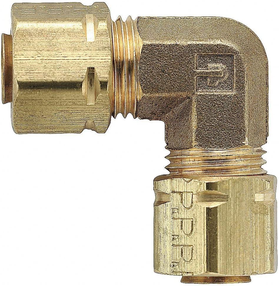 Free shipping / New Parker Brass Compression Union Tucson Mall Elbow 90 Tube - 2