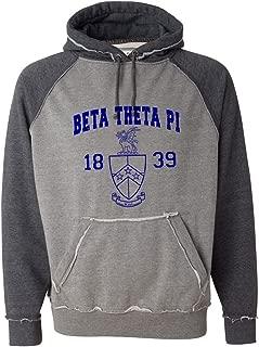 Beta Theta Pi Vintage Heather Hooded Sweatshirt
