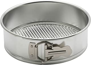 Mrs. Anderson's Baking 93226 Waffle-Bottom Springform Pan, Round, 8-Inches, Tinned Steel