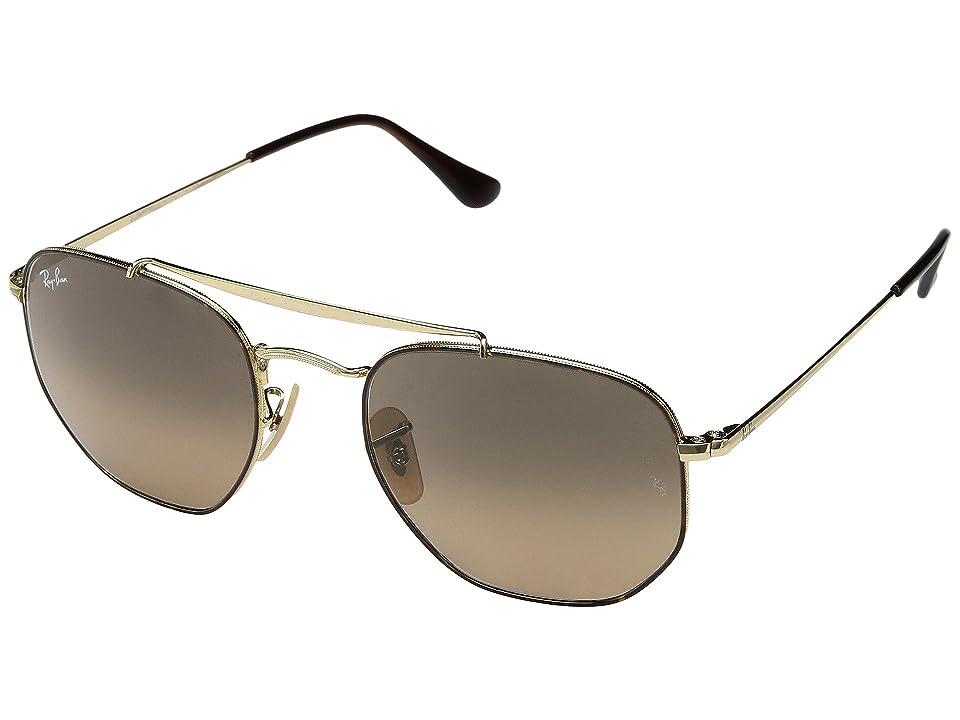 Ray-Ban RB3648 Marshall 54mm (Havana/Grey Gradient) Fashion Sunglasses