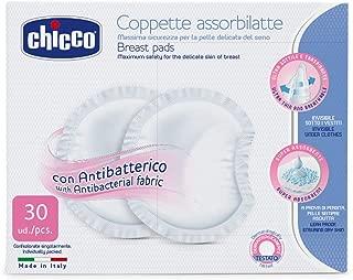 Discos Absorventes Antibacterianos - 30 Unidades, Chicco, Branco