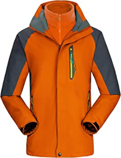 UINTA OUTERWEAR Men's Ski Jacket - Best Mountain Winter Coat with Windproof, Waterproof, and Two-Layer (Fleece) Warmth